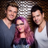 West Hollywood with Nick Carter & Jordan Knight