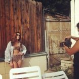 On set in West Hollywood